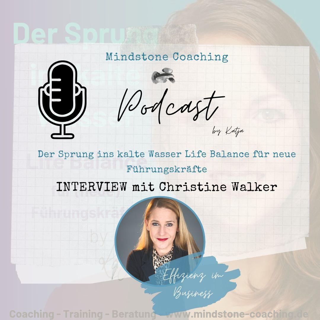 Neu als Führungskraft I EFFIZIENZ IM BUSINESS I Interview mit Christine Walker