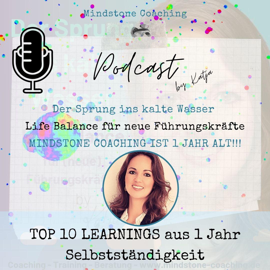 1 JAHR SELBSTSTÄNDIGKEIT I Meine Top 10 Tipps für mehr Life Balance im Job - nicht nur für Führungskräfte