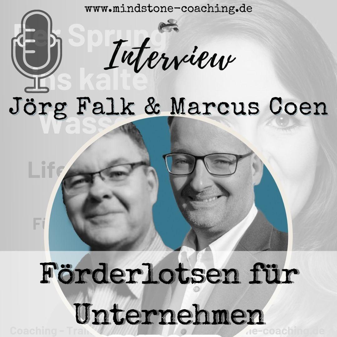 Neu als Führungskraft I FÖRDERLOTSEN FÜR UNTERNEHMEN I Interview mit Jörg Falk und Marcus Coen