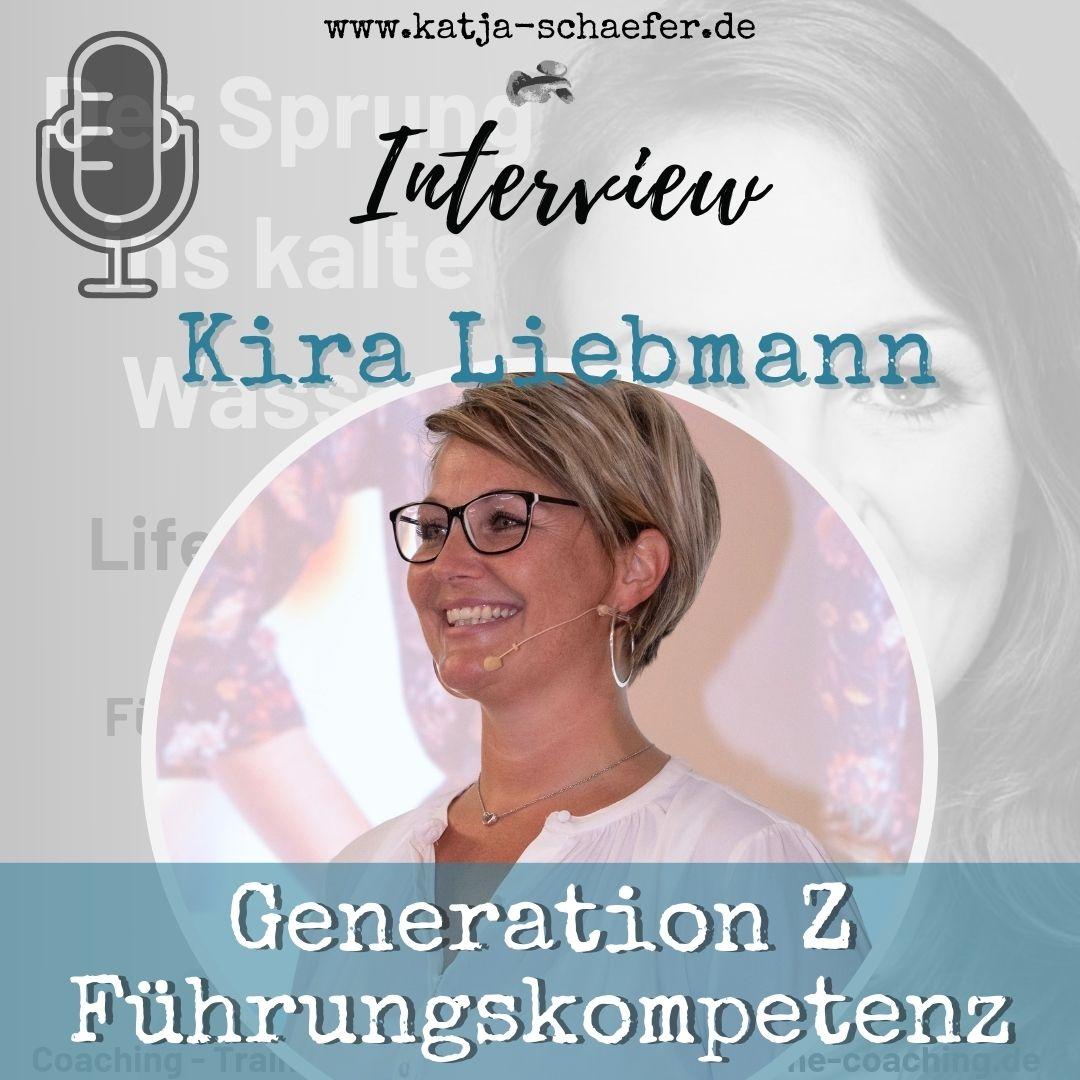 GENERATION Z & FÜHRUNGSKOMPETENZ I Interview mit Kira Liebmann I Neu als Führungskraft