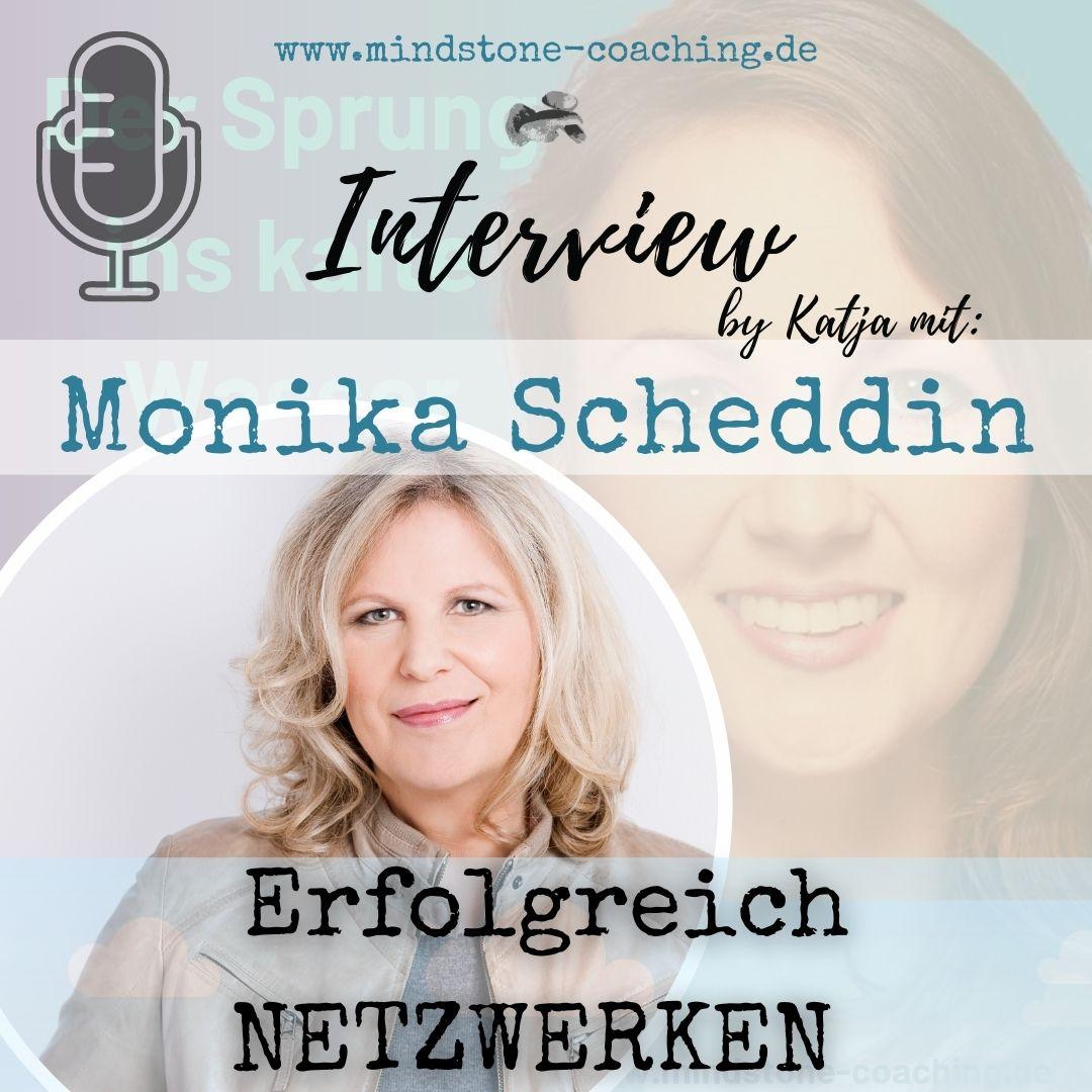Neu als Führungskraft I #24 ERFOLGREICH NETZWERKEN I Interview mit Monika Scheddin